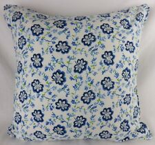 """Designers Guild Camomile Fabric Cushion Cover Piped Large 20""""Shabby Chic Floral"""