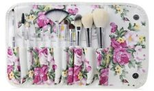 Professional Makeup Brush Set With Floral Travel Pouch (12-Piece) High Quality
