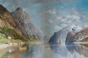 """high quality 36x24 oil painting handpainted on canvas """"landscape"""""""