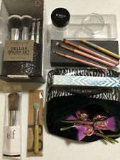 Lot 22Pc bdellium Full Size Makeup Brushes Professional + Accessories