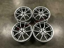 "19"" Ford Focus RS MK3 Style Alloy Wheels Hyper Silver Focus ST RS 5x108 63.4"