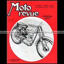MOTO REVUE N°1452-c FABRIQUE NATIONALE M22 250 BSA CROSS ENTRETIEN JAWA-CZ 1959