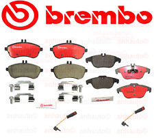 Brembo Front + Rear Disc Brake Pad Kit for Mercedes C250 12-15 / C300 08-12