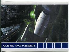 Star Trek Voyager Quotable USS Voyager Chase Card V6