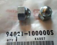 GENUINE HONDA C90 90 10mm DOMED REAR SHOCK ABSORBER NUTS (94021-100000S) C50 C70