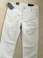 """ALL SAINTS MEN'S OYSTER WHITE """"VOLT"""" CHINOS TROUSERS PANTS - 30"""" & 31""""  NEW TAGS"""
