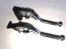 TRIUMPH THRUXTON BONNEVILLE SHORT BRAKE & CLUTCH LEVERS RACE TRACK ROAD NEW TS42