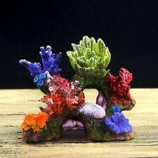 Aquarium Decoration Fish Tank Decor Resin Coral Reef Artificial Plant Ornament