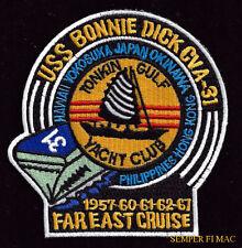 USS BONNIE DICK CVA-31 CV CVS US NAVY PATCH BON HOMME RICHARD VIETNAM ASW NAS
