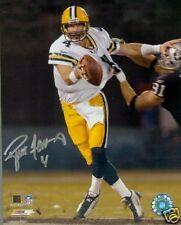 "Brett Favre Autographed ""Stiff Arm"" 8x10 Photograph"