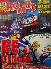 Auto & Sport ROMBO 28 1995 Michael Schumacher re di Denari - Berger vuota il sac