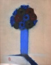 Blue Vase Double Shadow.....Original.....Pen & Ink On Paper