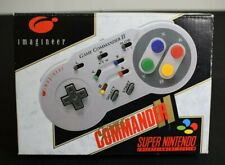 Imagineer Game Commander 2 -  Boxed SNES Controller  *Tested & Working*
