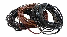 Genuine Leather Cord Braiding Lace Strings for Leather Crafts and Jewelry Making