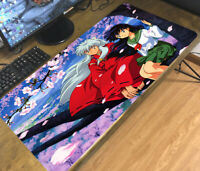 Inuyasha Higurashi Kagome Anime Mouse Pad Mat Large PC Keyboard Mat Game Playmat