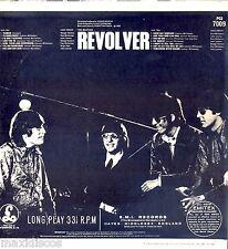 LP - The Beatles - Revolver (BEAT) FIRST PRESS. UK 1966, BLACK&YELLOW, PCS 7009