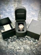 Genuine Emporio Armani  AR1725 Ladies/ Women's Watch unwanted present