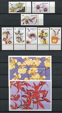 Grenada 1997 Orchideen Orchids Blumen 3562-81 + Block 474-75 Postfrisch MNH