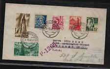 Germany   Baden  post war  cover  to  US      KEL1012