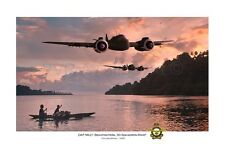 "WWII WW2 RAAF 30 Squadron Beaufighter Aviation Art Photo Print - 8"" X 12"""