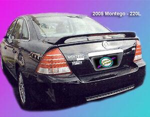 UNPAINTED MERCURY MONTEGO CUSTOM STYLE I SPOILER 2005-2007
