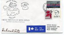 Resolute Devon Island Canada Polar Antarctic Cover SIGNED
