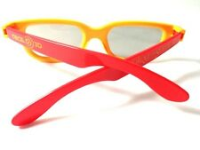 CIRQUE DU SOLEIL   5 PAIRS  REAL D 3D  GLASSES* FOR PASSIVE TV ,NEW