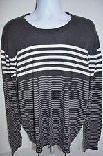 VINCE Premium Man's Stripped Crew Neck Sweater NEW Size XX-Large Retail