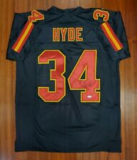 Carlos Hyde Autographed Signed Jersey Kansas City Chiefs JSA