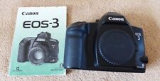 CANON EOS 3 CAMERA BODY WITH INSTRUCTION BOOKLET(#11204415)