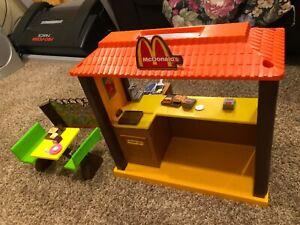 Vintage 1982 Mattel Barbie McDonald's Restaurant Playset with Accessories