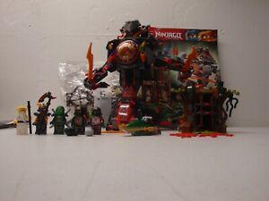 LEGO NINJAGO 70626 DAWN OF IRON DOOM AS IS