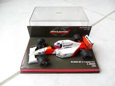 Mclaren Honda MP4/7 V12 Gerhard Berger #2 Minichamps 1/43 1992 F1 Formule 1
