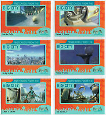 ROBOTS THE MOVIE COMPLETE SET OF 6 POSTCARDS CARDS