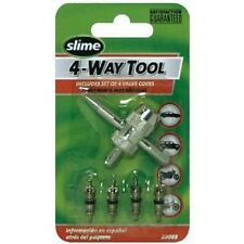 Slime 20088 4-Way Tool with 4 Valve Core
