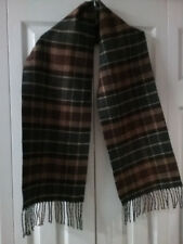 CHAPS NECK SCARF CHECK PLAID SOFT MULTI-COLOR FALL WINTER WARM LIGHTWEIGHT