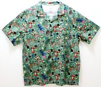 NEW Disney Trader Sam's Grog Grotto Enchanted Tiki Bar Hawaiian Shirt - XXL 2XL