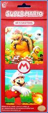 Nintendo - Super Mario - 3D Untersetzer 8er - Pack ** Neu **