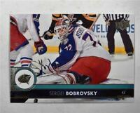 2017-18 17-18 Upper Deck UD Series 1 Base #54 Sergei Bobrovsky
