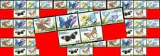 $$ wholesale $$ CENTRAL AFRICA 1999 Tropical BUTTERFLIES MNH CV$90.00 INSECTS