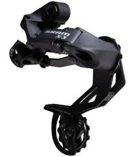 SRAM X3 Rear Mech Derailleur Gears Long Cage Black MTB Bicycle Bike 7 - 8 speed