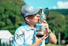 Jeff MAGGERT SIGNED Autograph 12x8 Photo 1 AFTAL COA Golf Seniors Tour Winner