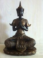 Clayre & Eef*Buddhakopf*Buddha*Kopf*Statue*Figur*Feng Shui*Skulptur*Deko*Garten