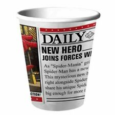 SPIDER-MAN Hero Dream Party 9oz PAPER CUPS (8) ~ Birthday Party Supplies Drink