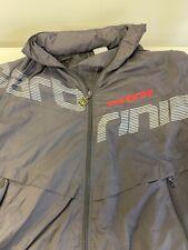 Carbrini Windcheater Jacket Boy's size L age 12 - 13  Fold-Away Hood