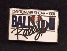 DAYTON AIRSHOW 1991 Balloon Rally Hot Air BALLOON Hat Lapel Pin