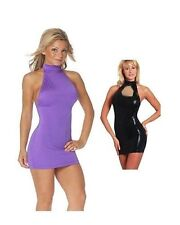 Cross dresser Trans Gender Dress nylon lycra  Club Dress For Men or women