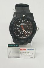 Timex Men's Expedition T49831 Black Case Dial & Resin Band Watch FLAWED W12