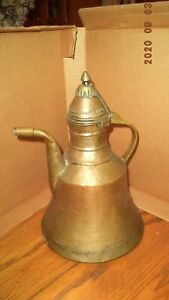 ANTIQUE COPPER PITCHER LARGE & FABULOUS!!