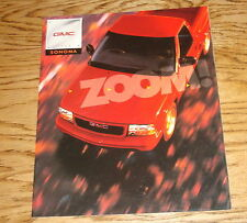 Original 1998 GMC Truck Sonoma Sales Brochure 98